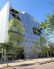 Edificio Media-TIC en Barcelona, Sede de la Fundación Ship2B. Formación de startups con Ship2B.