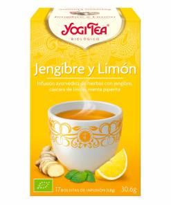 Yogi Tea BIO Jengibre y Limón - Andorra MarketPlace