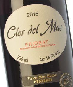 Vino tinto crianza, Clos del Mas 2015 - Andorra MarketPlace