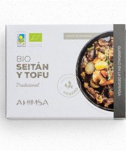 Tofu Natural Bio 350grs Ahimsa - Andorra MarketPlace
