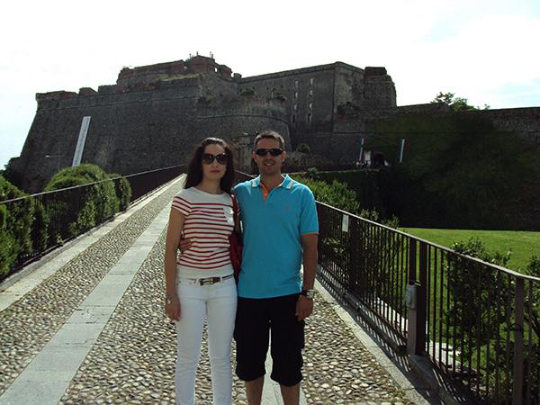 Andorreando Fortaleza Priamar Savona