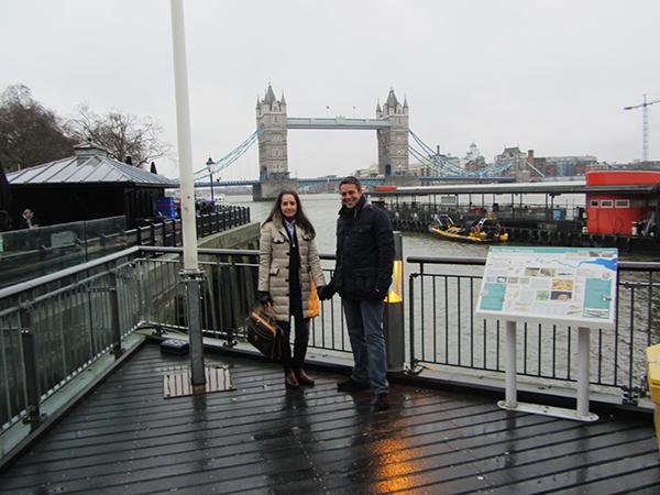 Tower Bridge London.