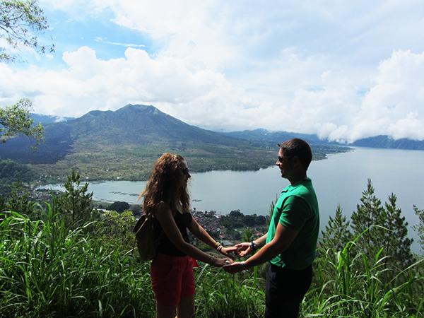 Volcán y Lago Monte Batur