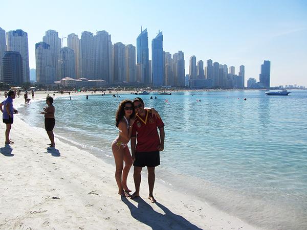 Playa de Jumeirah Beach Dubái