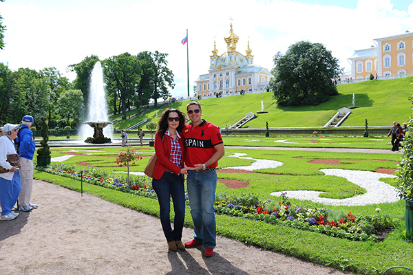 Andorreando Jardines Peterhot San Petersburgo