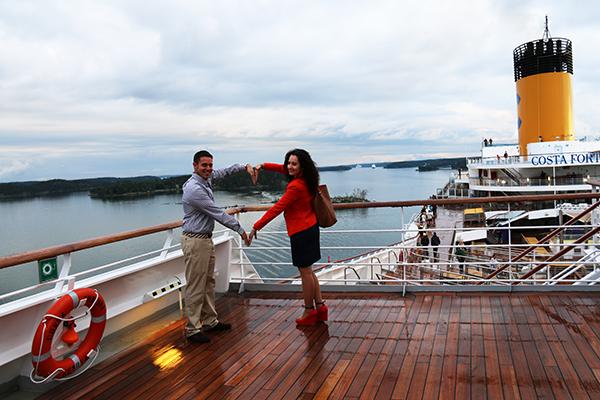 Andorreando por el barco