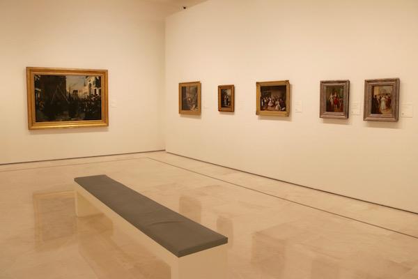 Sala museo Carmen Thyssen