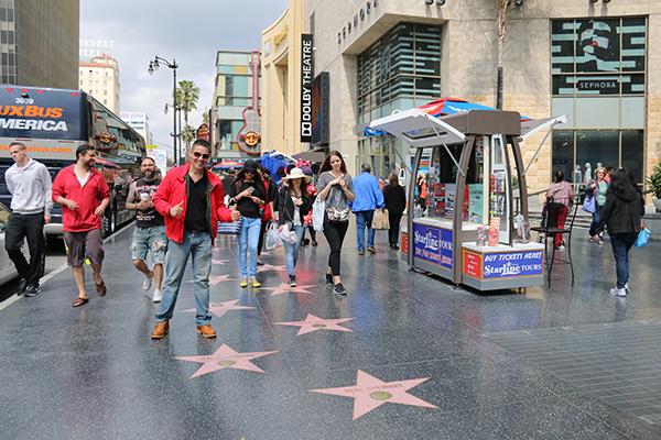 Paso Fama Hollywood