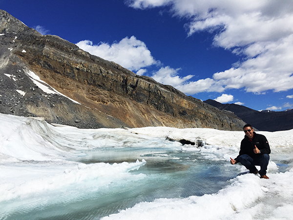 Glaciar Athabaska