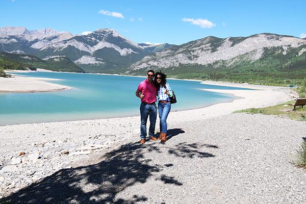 Andorreando Lago Barrier.