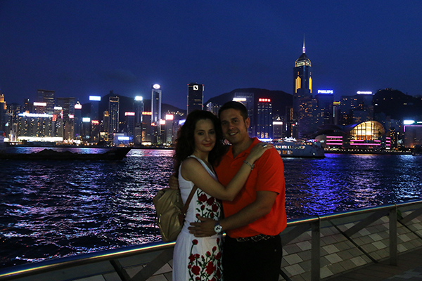 Bahía Hong Kong
