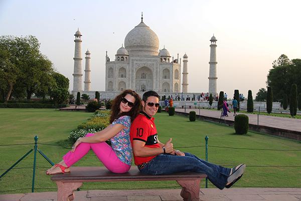 Taj Mahal Maravilla Del Mundo Moderno