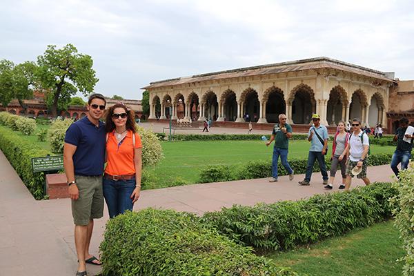 Interior de Fuerte Rojo Agra..