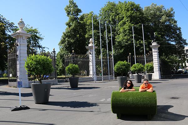 Exterior Park Promenade Bastions
