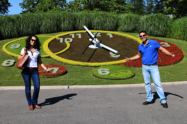 Reloj Flores Ginebra