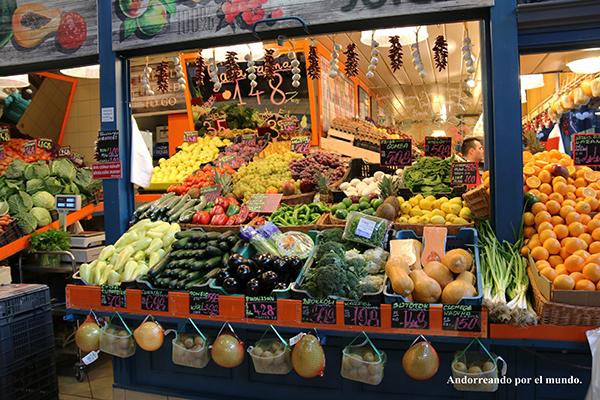hortalizas Mercado Central
