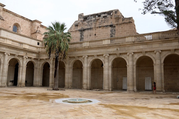 Patio Catedral Encarnación