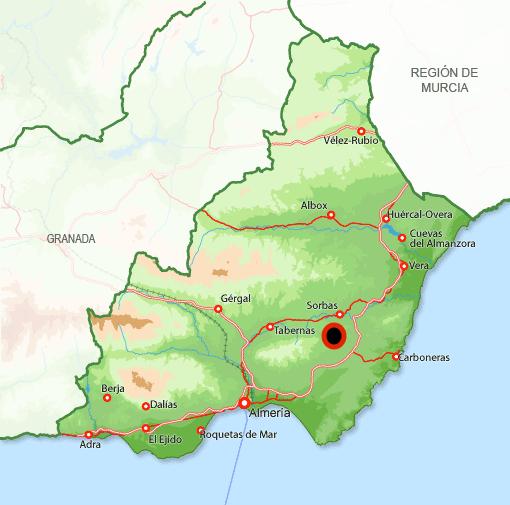 Andorreando Mapa Lucainena de las Torres