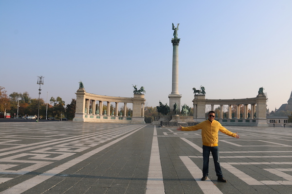 Plaza Héroes.