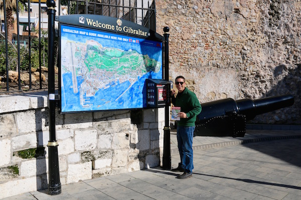 compra Mapa Gibraltar
