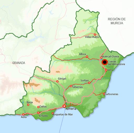 Andorreando Cuevas del Almanzora