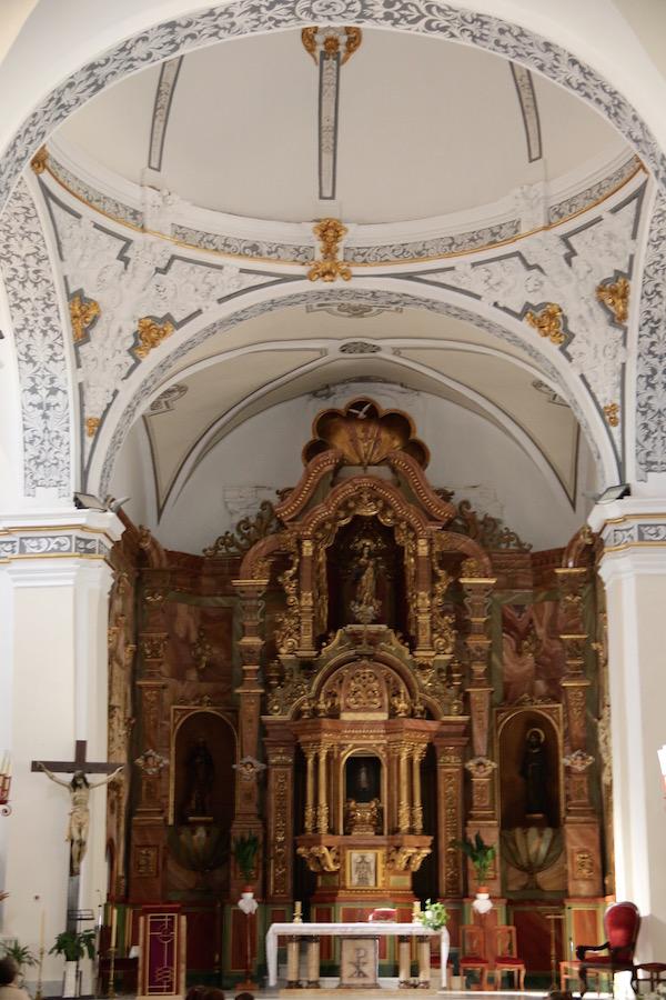 Interior Iglesia Parroquial Santa María