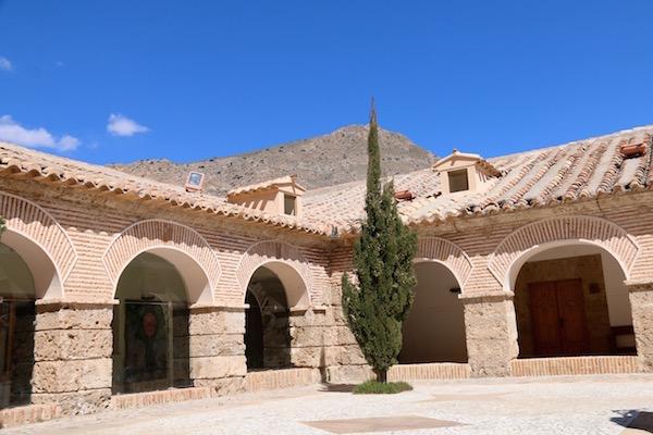 Interior Patio Santuario Saliente