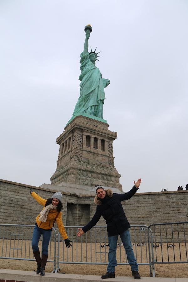 Estatua de la Libertad-Andorreando por el Mundo