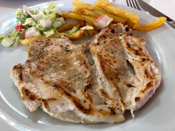Pechuga pollo, El Fogón.
