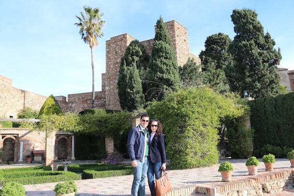 Alcazaba Málaga-Andorreando por el Mundo