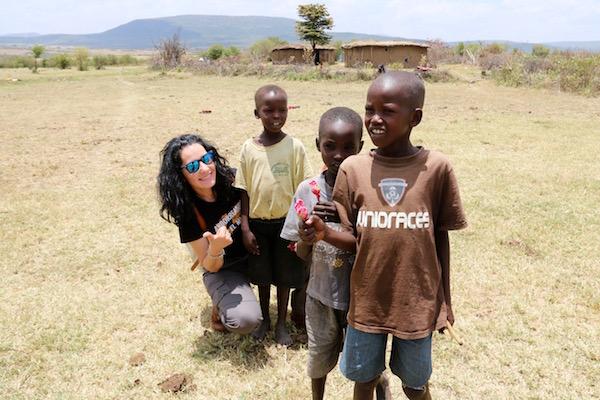 Niños Tribu Maasai Mara-Andorreando por el Mundo