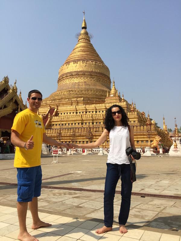 Pagoda Shwezigon-Andorreando por el Mundo.