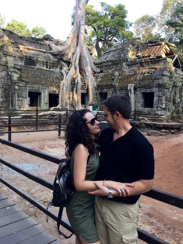 Templo Ta Prohm-Andorreando por el Mundo
