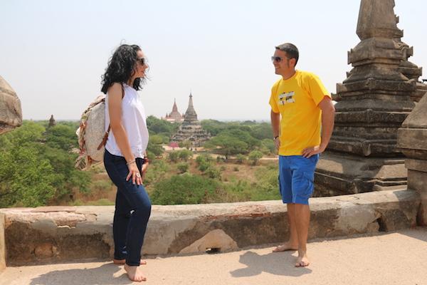 Terraza Shwe Gu Gyi-Andorreando por el Mundo