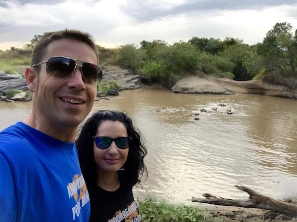 hipopótamos Maasai Mara-Andorreando por el Mundo