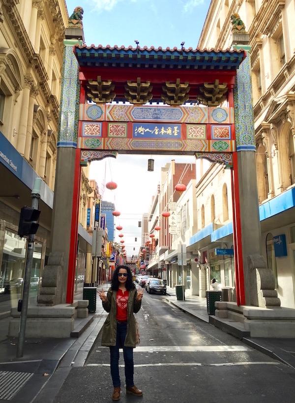 Chinatown Melbourne-Andorreando por el Mundo