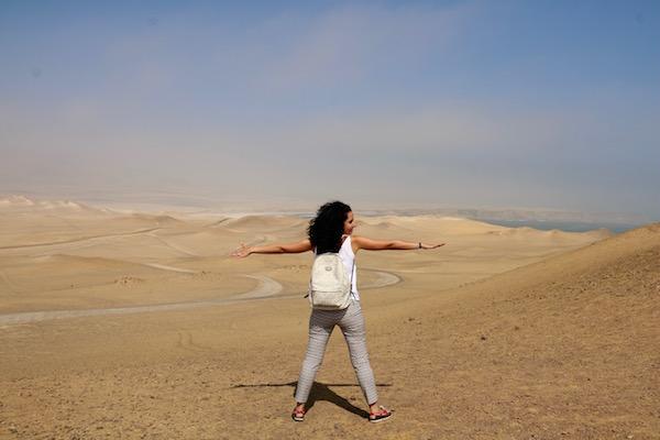 Desierto Paracas- Andorreando por el Mundo