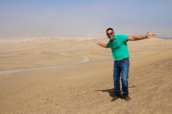 Desierto de Paracas -Andorreando por el Mundo.