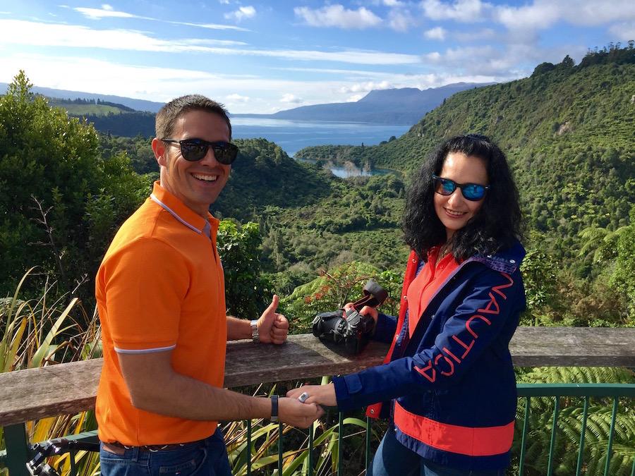 Lago Tarawera-Andorreando por el Mundo