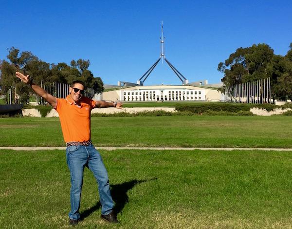 Parlamento de Australia-Andorreando por el Mundo