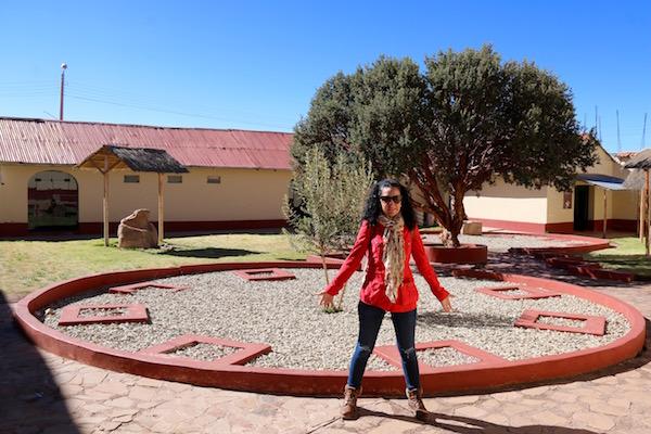 Patio Museo Lítico Pukara