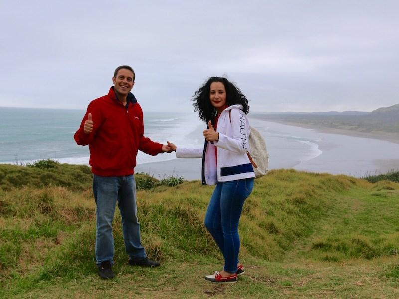 Playa Muriwai-Andorreando por el Mundo