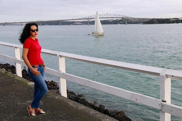 Puente Puerto Auckland-Andorreando por el Mundo