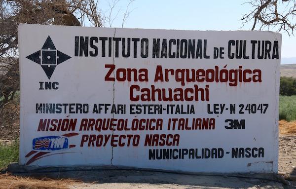Zona arqueológica Cahuachi-Andorreando por el Mundo