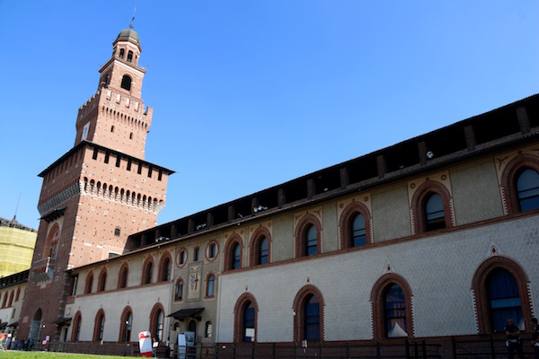 Castillo Sforzesco.