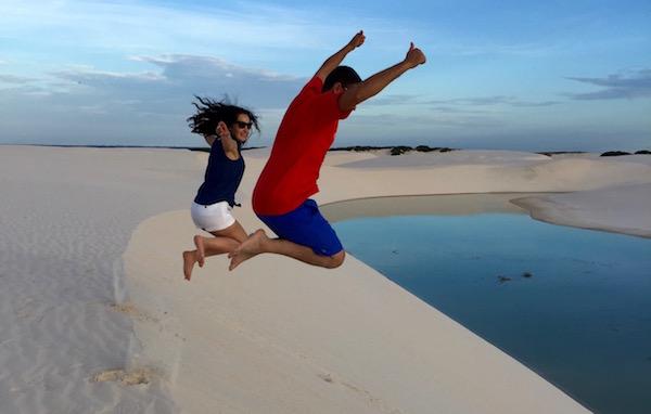 Jump Lencois Maranhenses