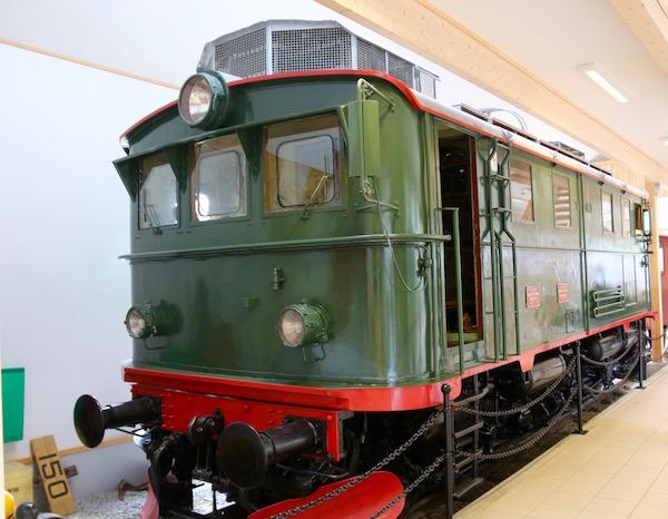 Locomotora Museo Tren Flam