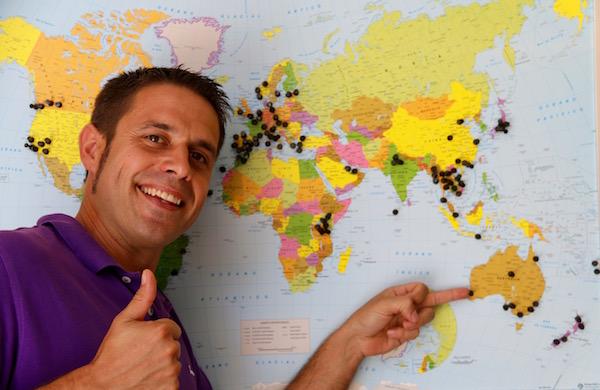 Perth Australia Mapa Mundi