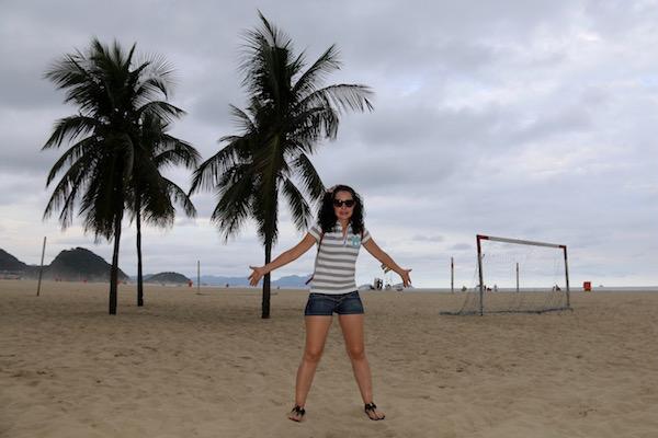Playa Copacabana.