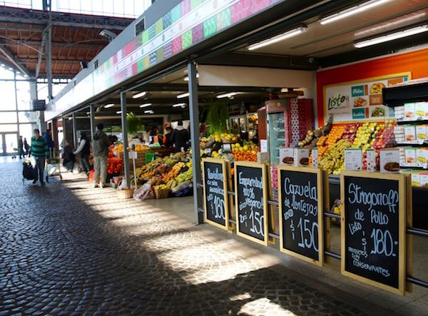 Puestos Mercado Agricultura de Montevideo